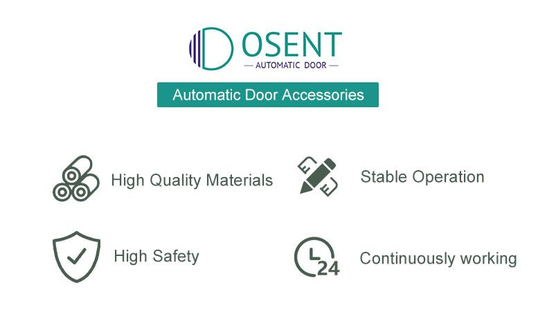 features of automatic door accessories