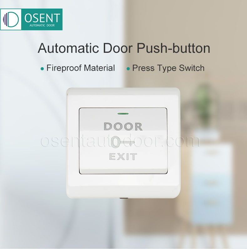 pushbutton switch for autmatic door