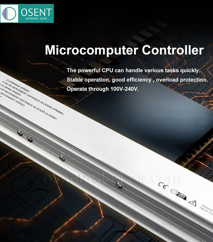 Microcomputer controller of Automatic Sliding Door Opener DSL125A/125B