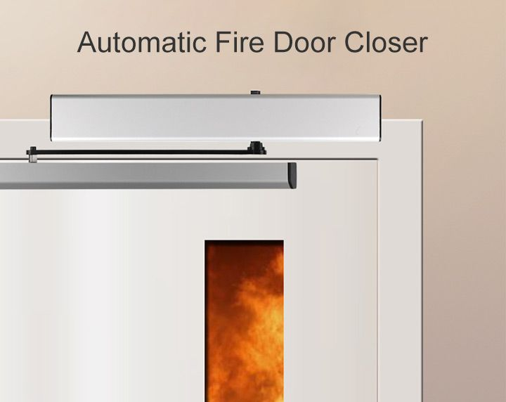 automatic fire door closer