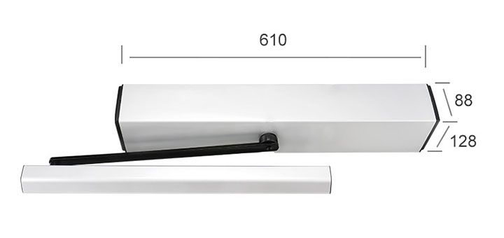 heavy duty swing door operator product size