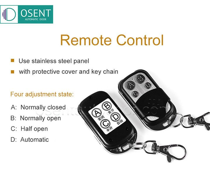 swing door opener remote control