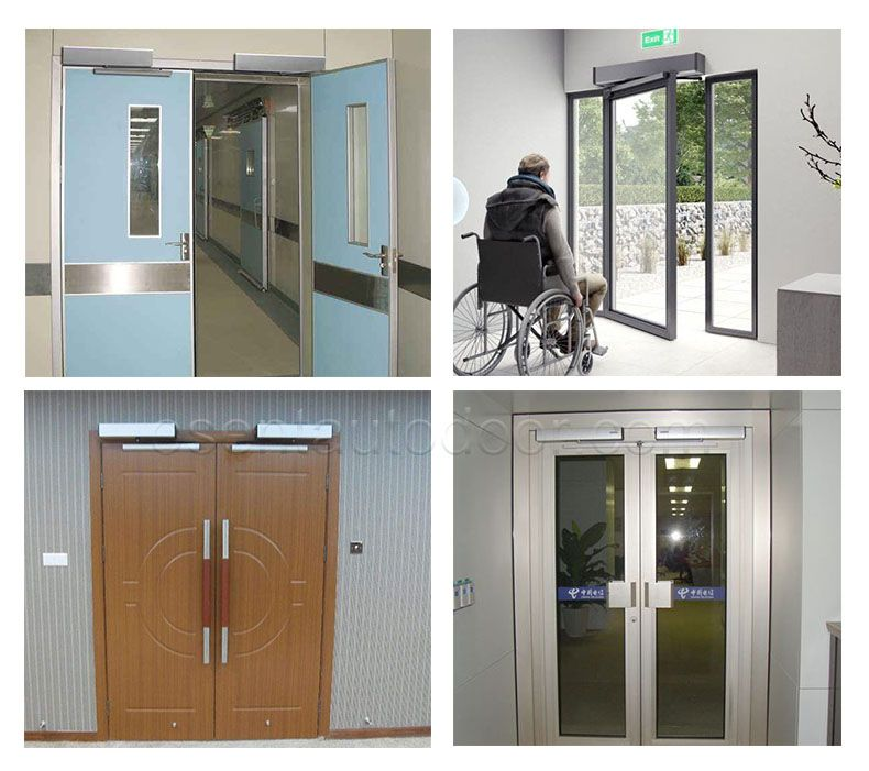 swing door opener projects