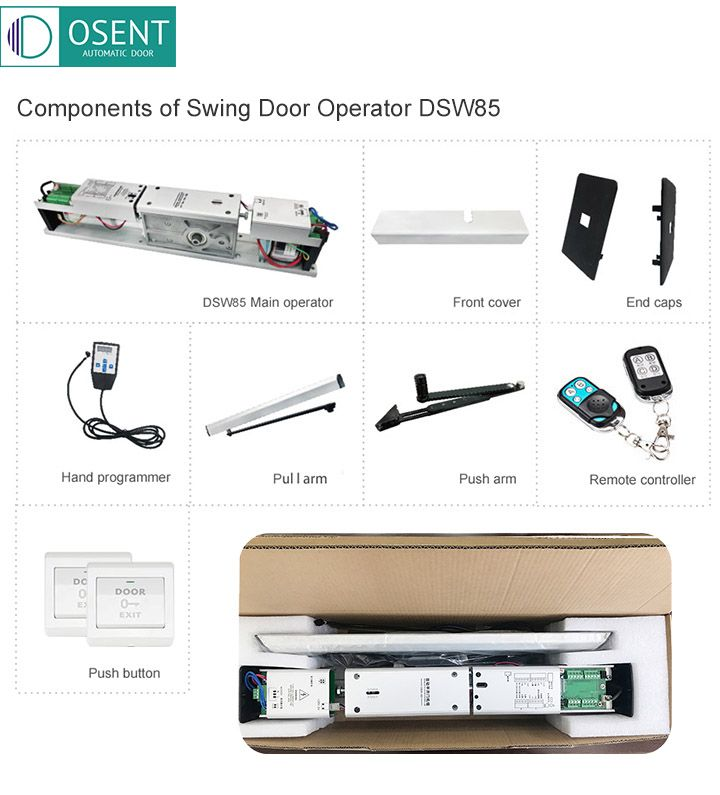 whole Set of Automatic Swing Door Opener and Closer DSW85