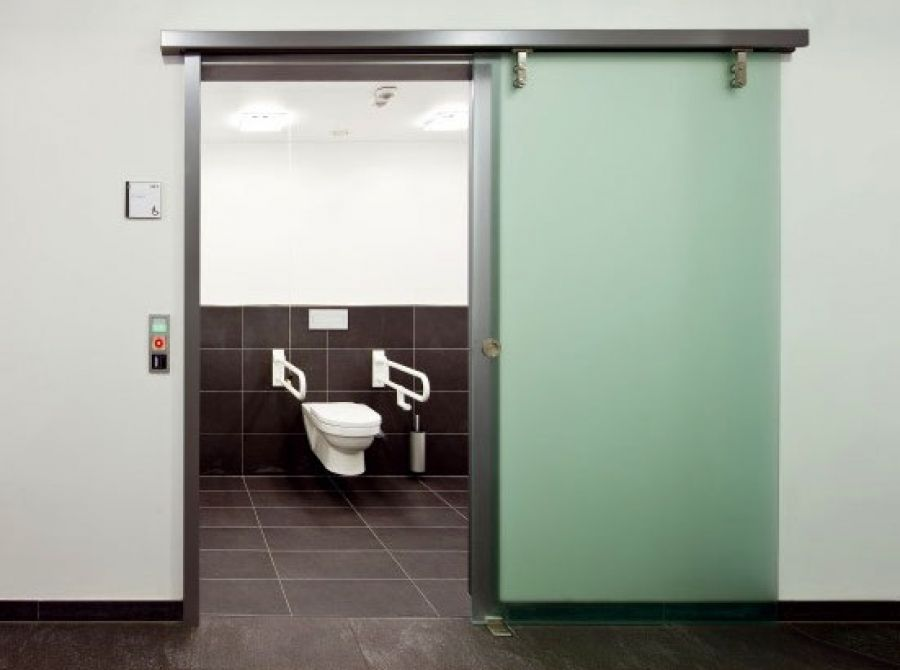 Disabled Toilet Automatic Door System